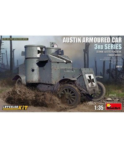 1/35 Carro Blindado Austin Serie 3