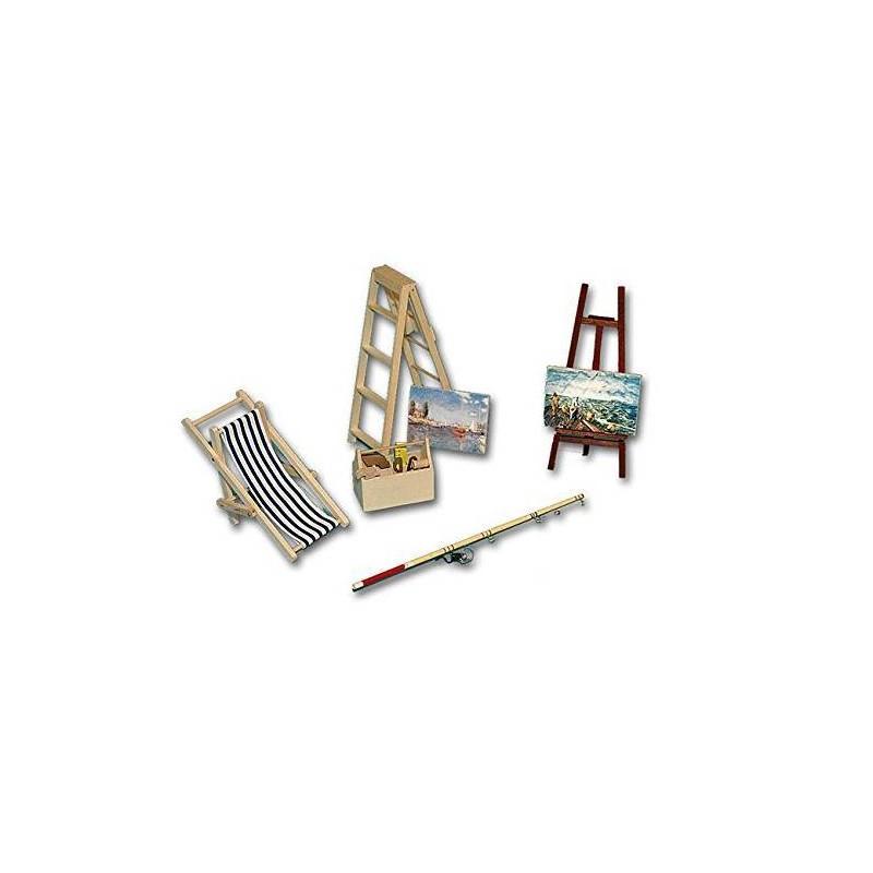 36202 Chaves. Pack de muebles y accesorios playa