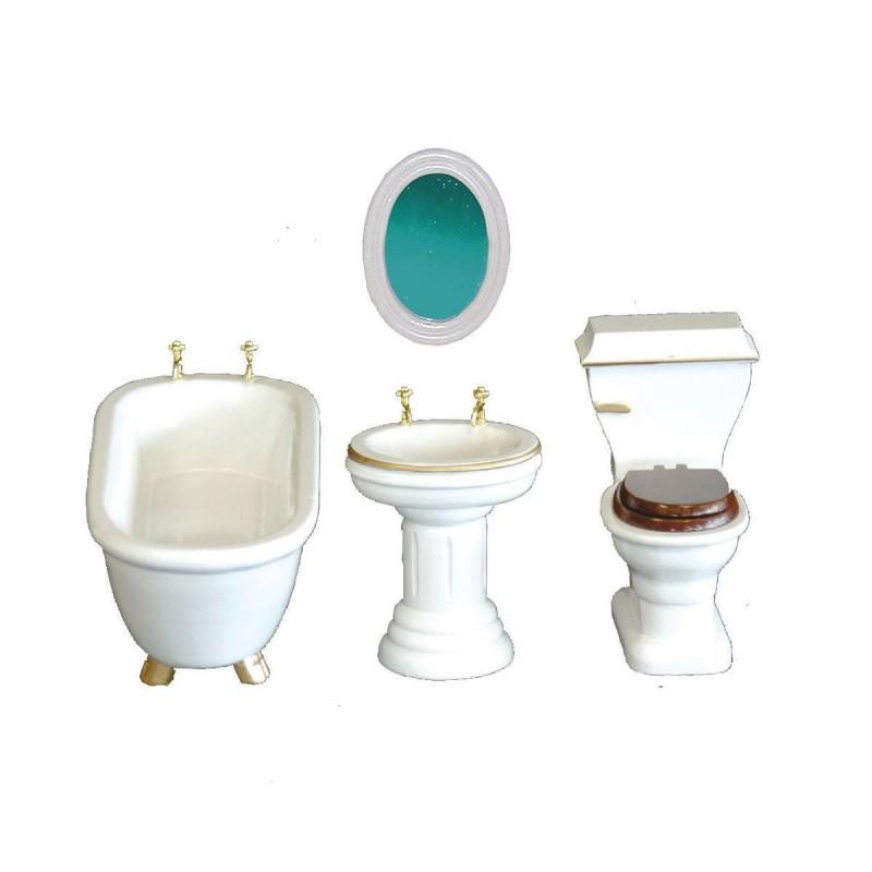 36101 Chaves. Conjunto muebles de Baño 4 piezas