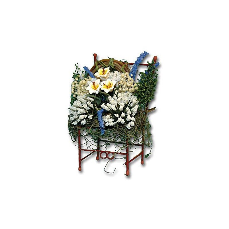 36160 Chaves. Silla con flores