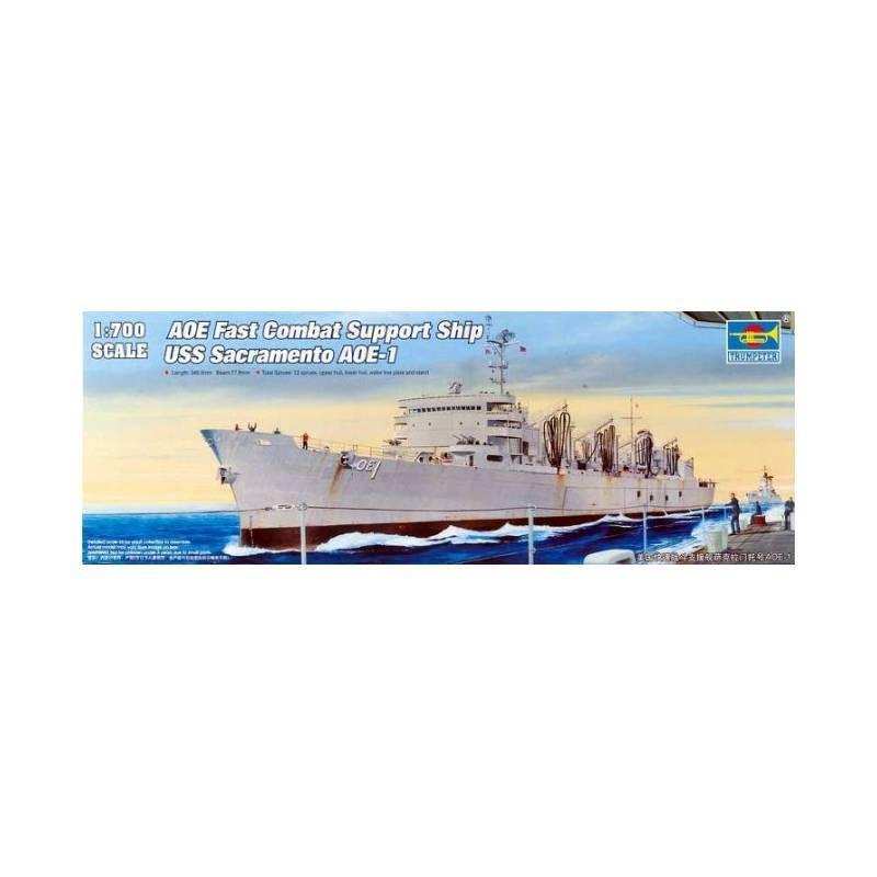 545785 Trumpeter. 1/700 USS Sacramento AOE-1