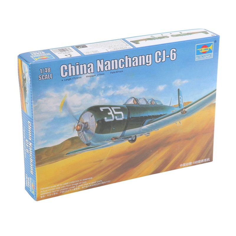 542887 Trumpeter. 1/48 China Nanchang CJ-6