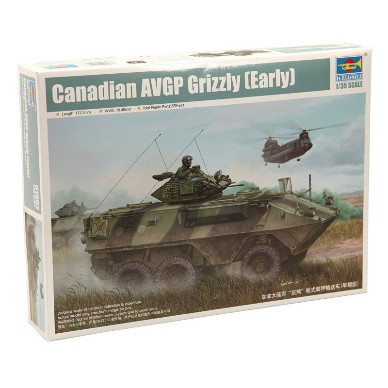 541502 Trumpeter. 1/35 Canadian AVGP Grizzly (Early) 6x6