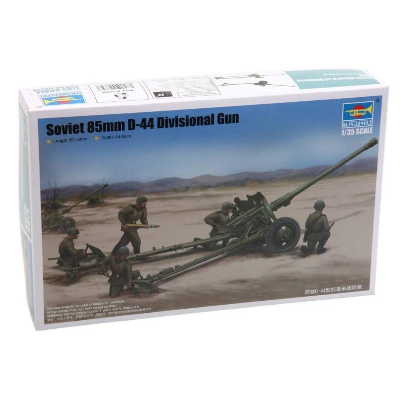 542339 Trumpeter. 1/35 Soviet 85mm D-44 Divisional Gun