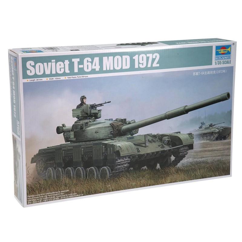 541578 Trumpeter. 1/35 Soviet T-64 Mod 1972