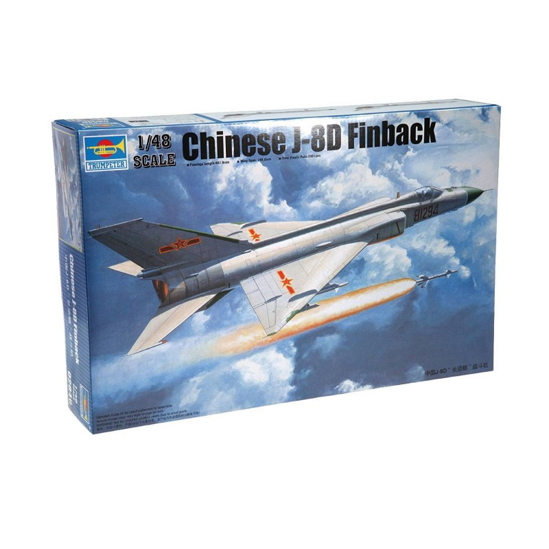 542846 Trumpeter. 1/48 Chinese J-8D Finback