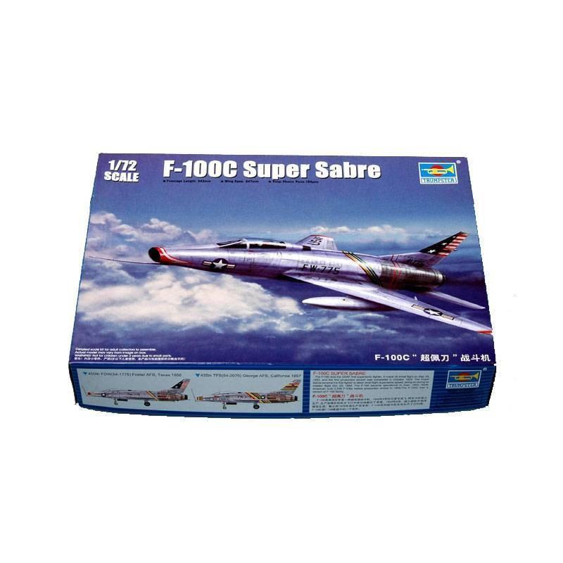 541648 Trumpeter. 1/72 F-100C Super Sabre