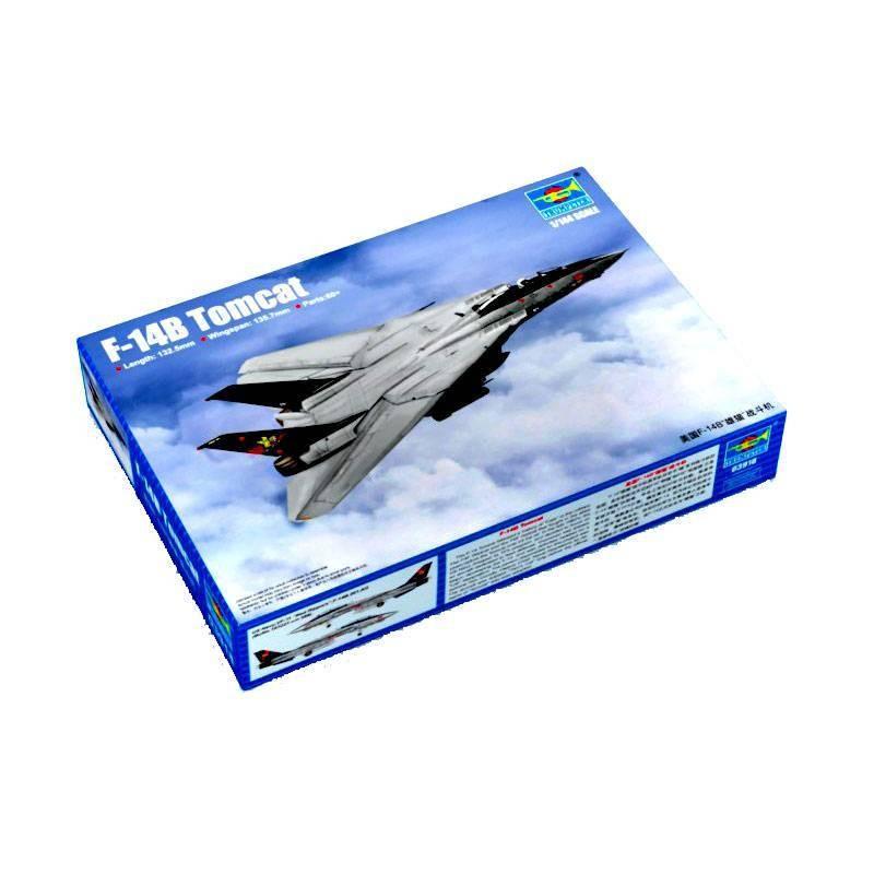 543918 Trumpeter. 1/144 F-14B Tomcat