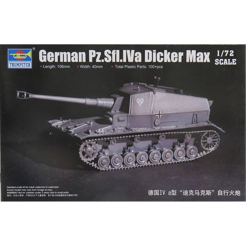547108 Trumpeter. 1/72 German Pz.Sfl.Iva Dicker Max