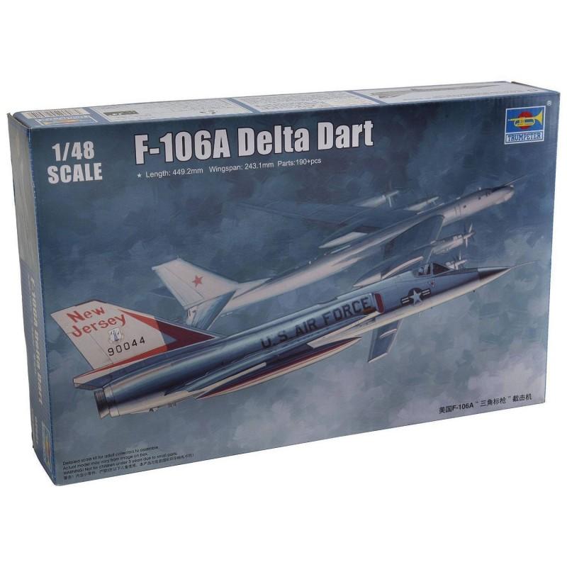 542891 Trumpeter. 1/48 F-106A Delta Dart
