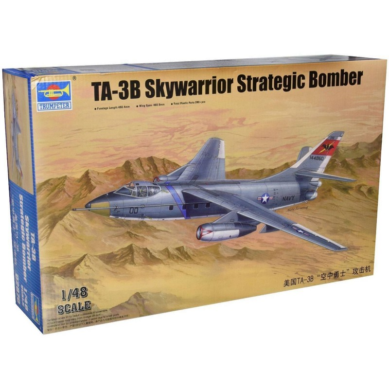 542870 Trumpeter. 1/48 TA-3B Skywarrior Strategic Bomber