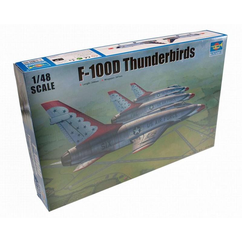 542822 Trumpeter. 1/48 F-100D Thunderbirds