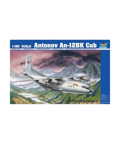 544001 Trumpeter. 1/100 AntonovAn-12BK Cub