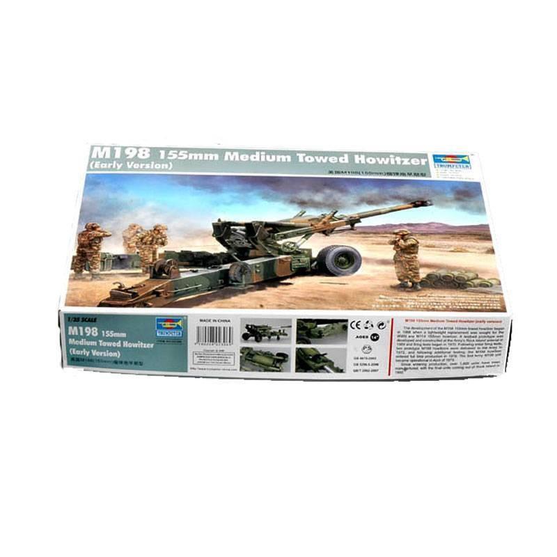 542306 Trumpeter. 1/35 M198 155mm Medium Towed Howitzer