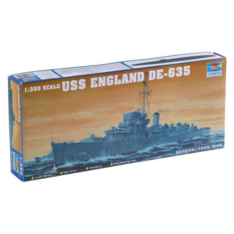 545305 Trumpeter. 1/350 USS England DE-635