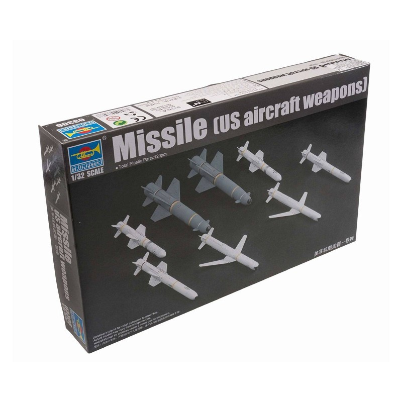 543306 Trumpeter. 1/32 Missile (U.S. Aircraft Weapons)