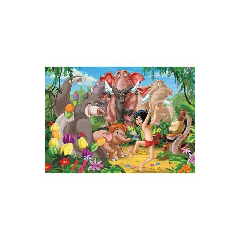 97715. Puzzle Ravensburger 125 piezas, Mowgli y sus amigos