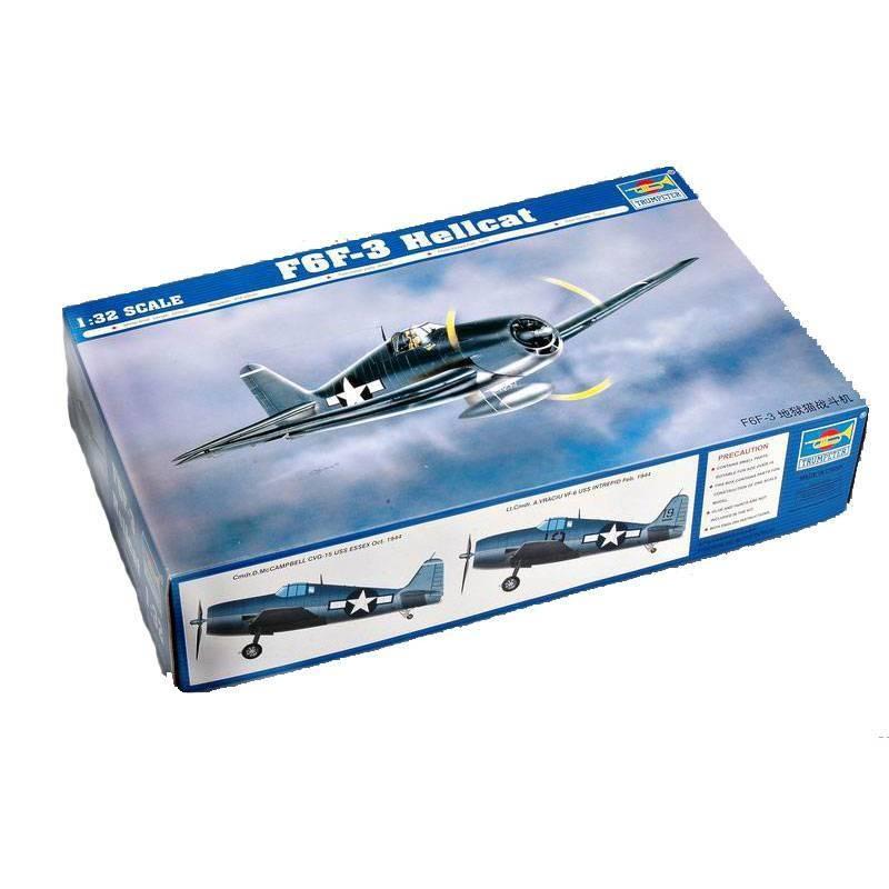 542256 Trumpeter. 1/32 F6F-3 Hellcat