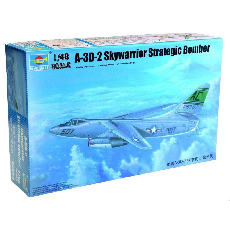 542868 Trumpeter. 1/48 A-3D-2 Skywarrior Strategic Bomber