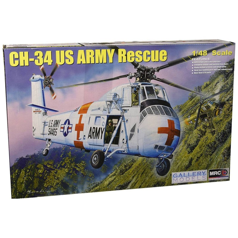 5464103 Trumpeter. 1/48 US Army CH-34 Rescue