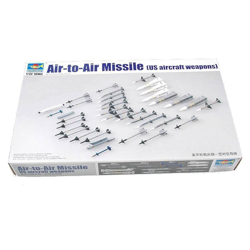 543303 Trumpeter. 1/32 Air-to-Air Missile (US aircraft weapons)