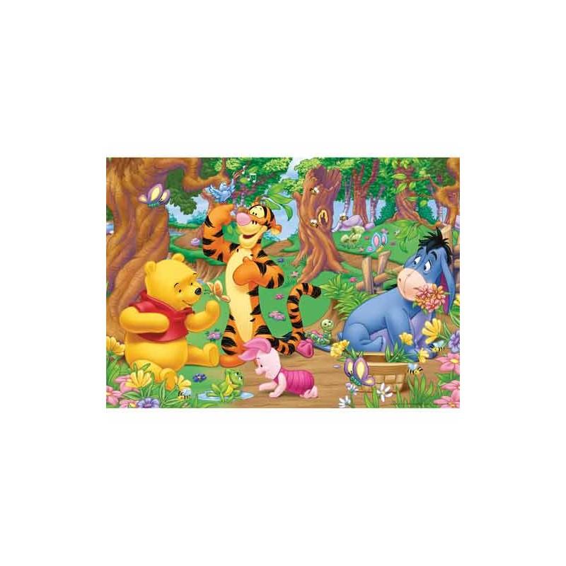97685. Puzzle Ravensburger 125 piezas XXL, Winnie en el bosque