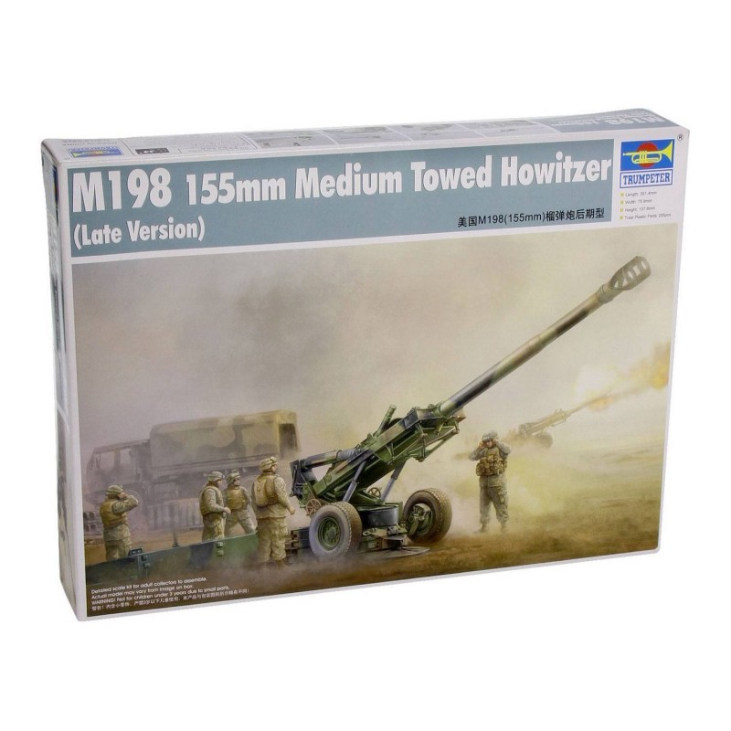 542319 Trumpeter. 1/35 M198 155 mm Medium Towed Howitzer