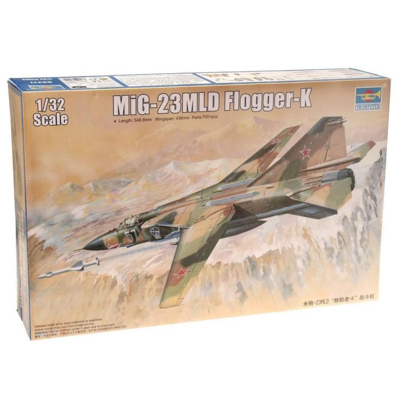 543211 Trumpeter. 1/32 MiG-23MLD Flogger-K
