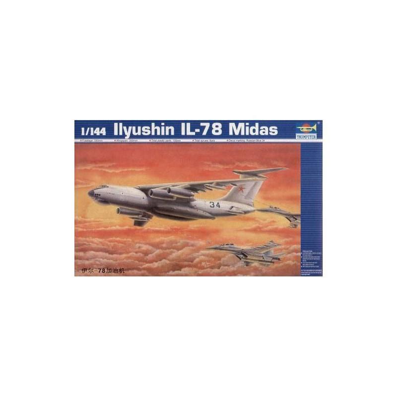 543902 Trumpeter. 1/144 Ilyushin IL-78 Midas