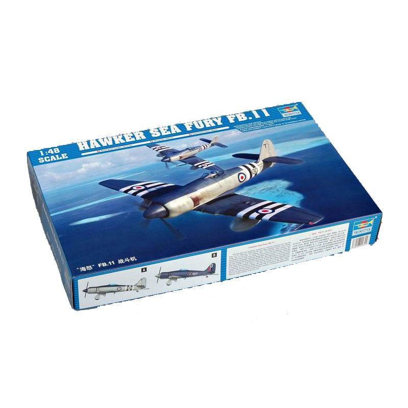 542844 Trumpeter. 1/48 Hawker Sea Fury FB.11