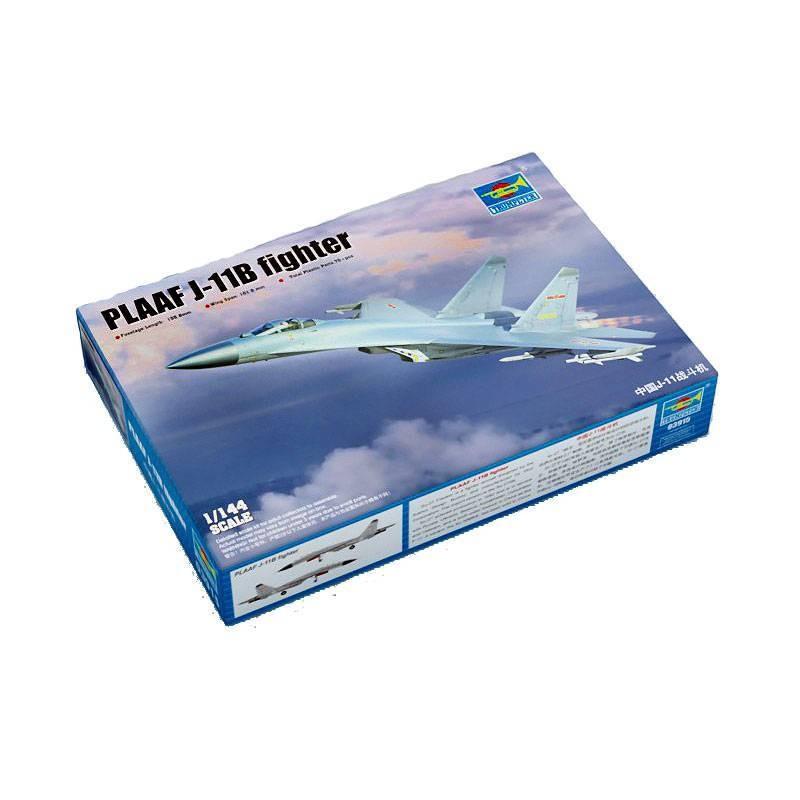 543915 Trumpeter. 1/144 PLAAF J-11B fighter