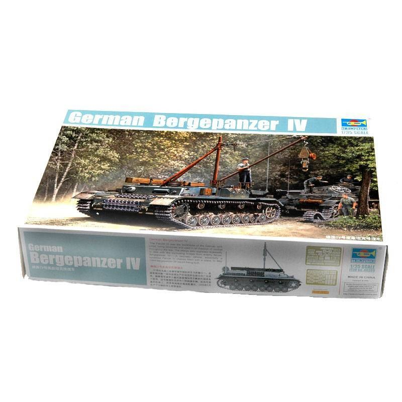 540389 Trumpeter. 1/35 German Bergepanzer IV Recovery Vehicle
