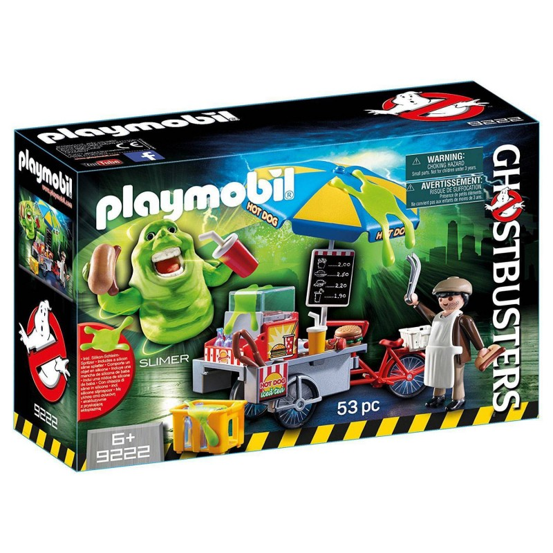 9222 Playmobil. Slimer con stand de hot dog GhostBusters