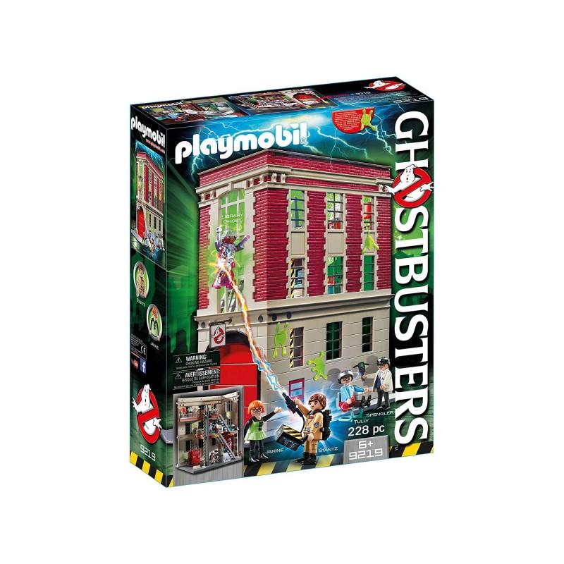 9219 Playmobil. Cuartel parque de bomberos Ghostbusters