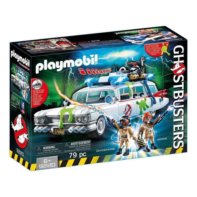 9220 Playmobil. Coche Ecto-1 Ghostbusters