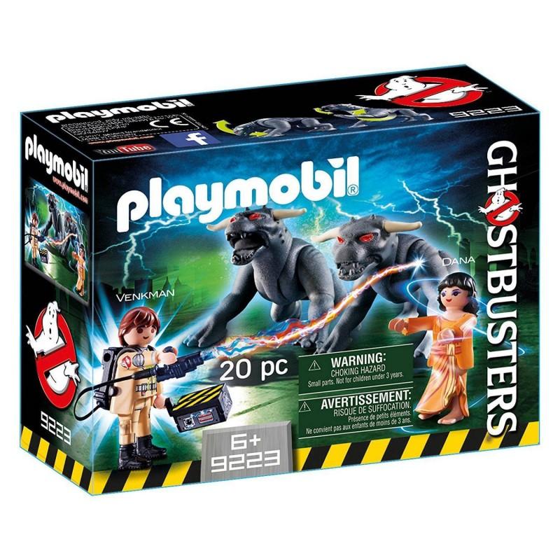 9223 Playmobil. Venkman, Dana y Perros de Gozer GhostBusters