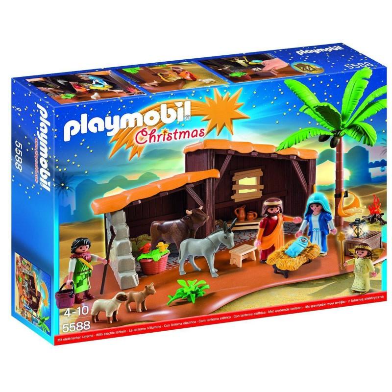 5588 Playmobil. Belén con establo