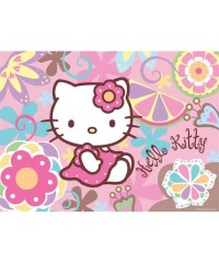 140107. Puzzle Ravensburger 300 piezas, Kitty Flower Power