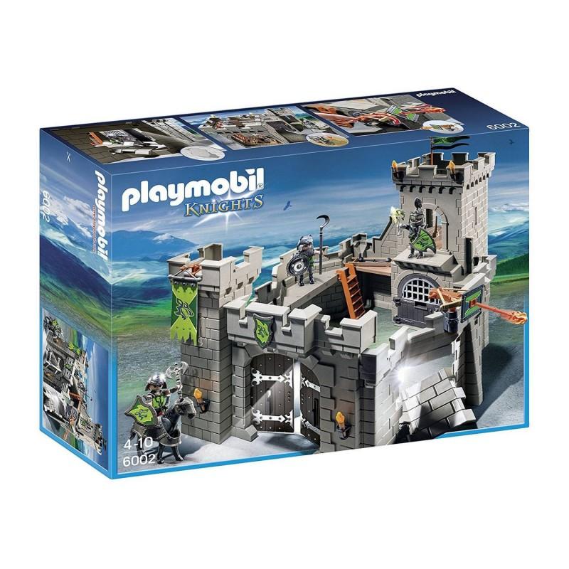 6002 Playmobil. Fortaleza de los Caballeros Lobo