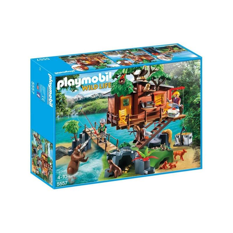 5557 Playmobil. Casa del Árbol de Aventuras