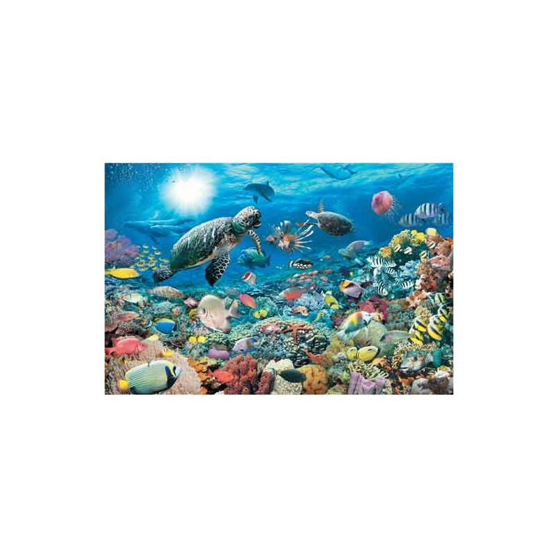 174263. Puzzle Ravensburger 5000 piezas, Mundo Submarino