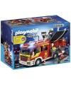 5363 Playmobil. Camión de Bomberos con Luces y Sonido