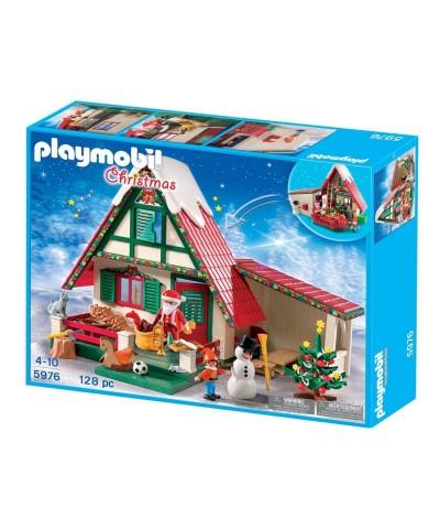 5976 Playmobil. Casa de Papá Noel