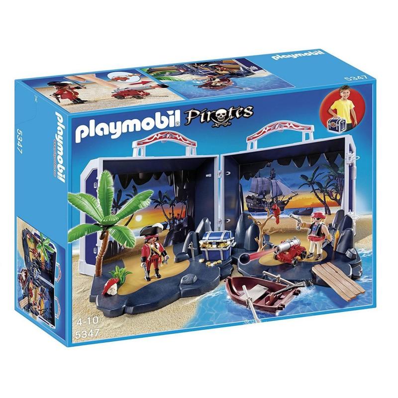 5347 Playmobil. Cofre del Tesoro Pirata