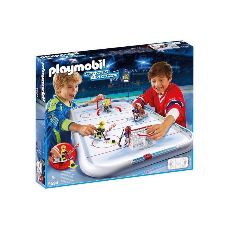 5594 Playmobil. Campo de Hockey sobre Hielo