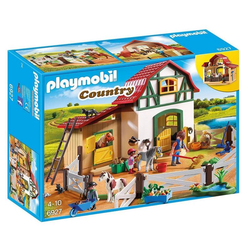 6927 Playmobil. Granja de Ponis