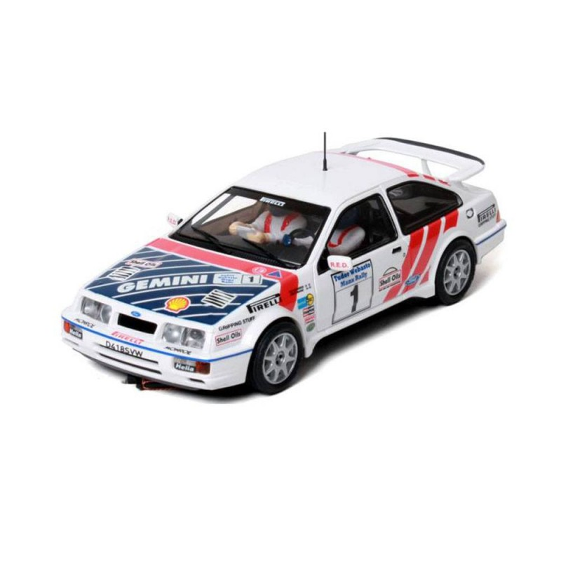 "6483 Scalextric. Coche Slot Ford Sierra Rs Cosworth ""Mcrae"""