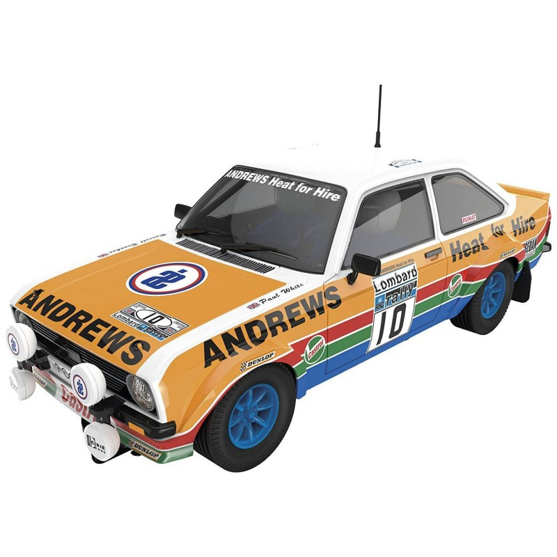 """A10147 Scalextric. Coche Slot Ford Escort MKII """"Heat for Hire"""""""