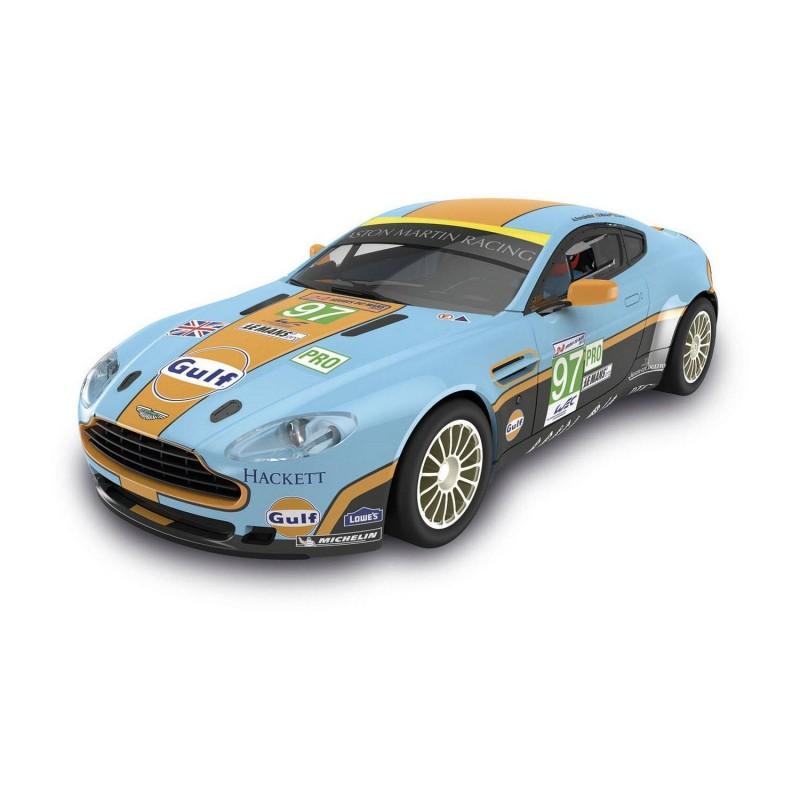 """A10116 Scalextric. Coche Slot Aston Martin Vantage """"Gulf"""""""