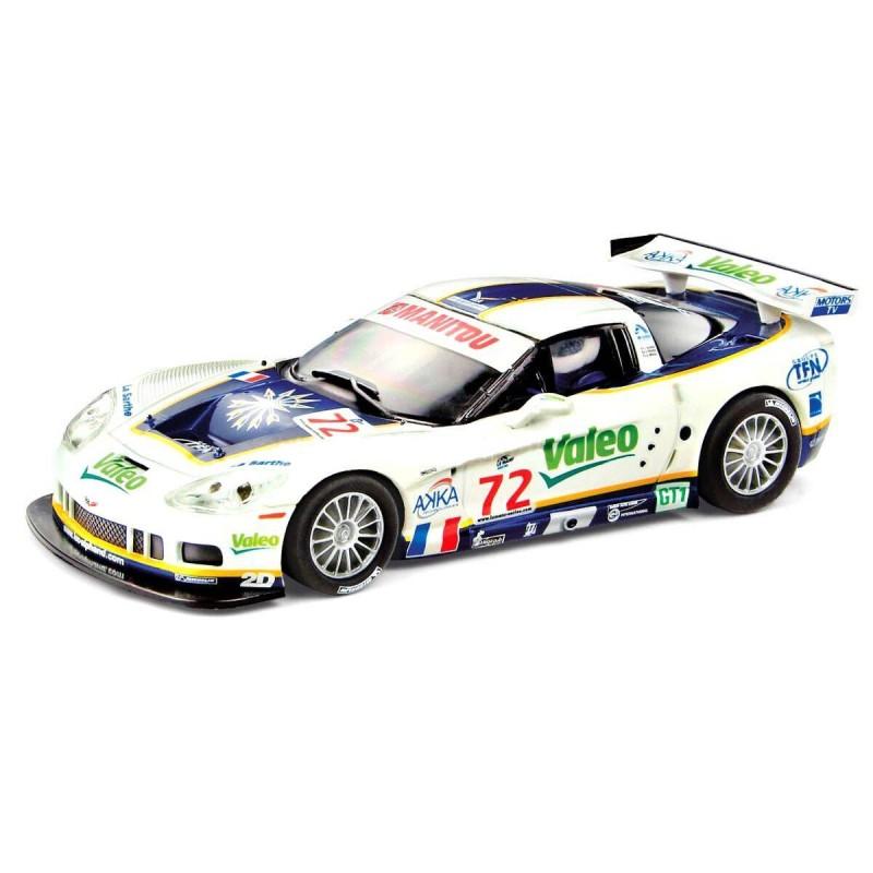 "A10075 Scalextric. Coche Slot Chevrolet Corvette C6R ""Valeo"""